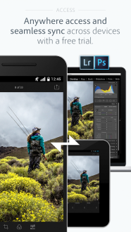 Adobe Photoshop Lightroom для android