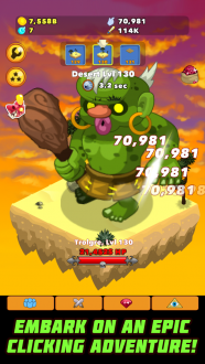 Clicker Heroes для android