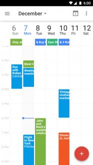 Google Календарь для андроид