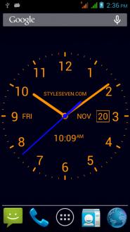 Analog Clock для android