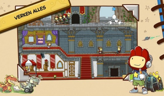 Scribblenauts Unlimited для android