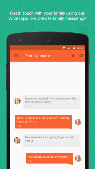 Семейный Локатор для андроид