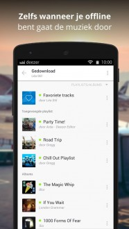 Deezer Music для android