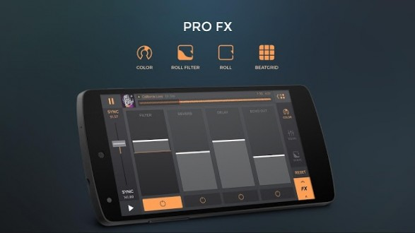 edjing PRO – DJ-микшер для android