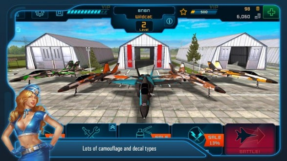 Battle of Warplanes для android