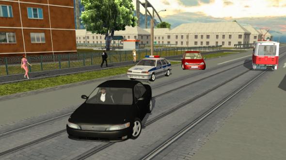 Криминальная Россия 3D - Борис для андроид