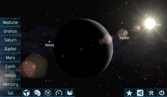 Солнечная система HD для андроид
