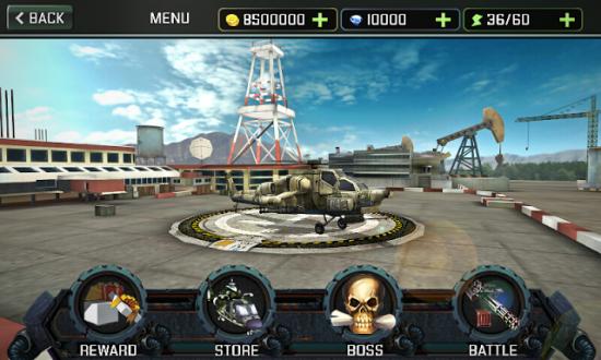 Вертолетная атака 3D для андроид