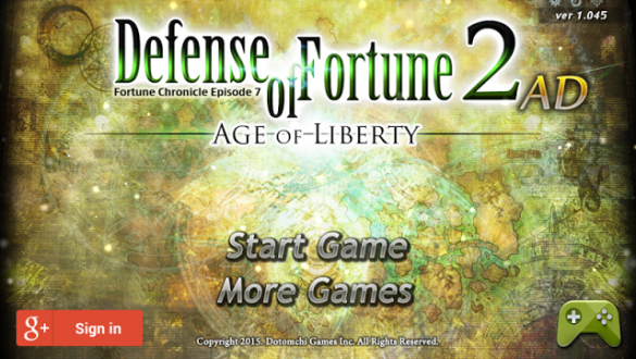 Defense of Fortune 2 AD для android