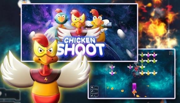 Chicken Shot - Space Warrior для android