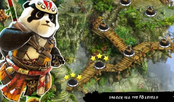 Ninja Panda Run-Ninja Exam для android