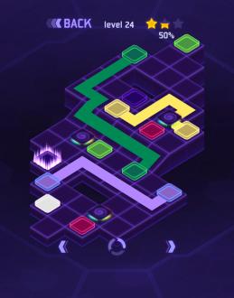 Flow Dots - соединить Точки 3D на андроид