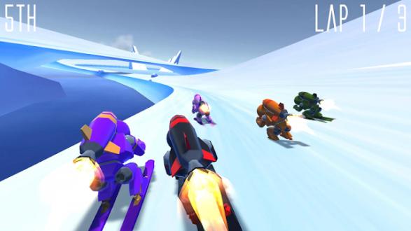 Rocket Ski Racing на андроид