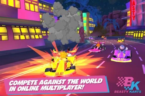 Beasty Karts на андроид