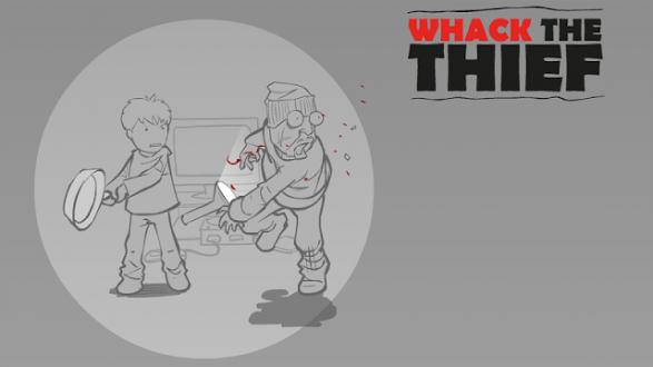 Whack The Thief (Уделай вора) на андроид