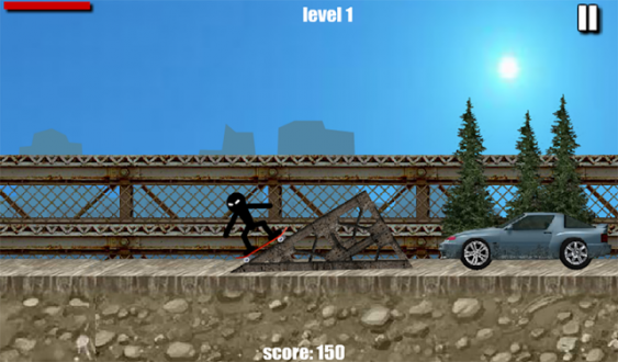 Stickman Skate на android