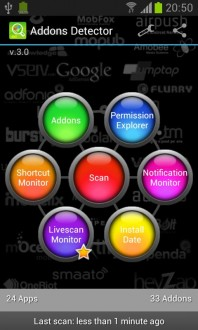 Addons Detector на android