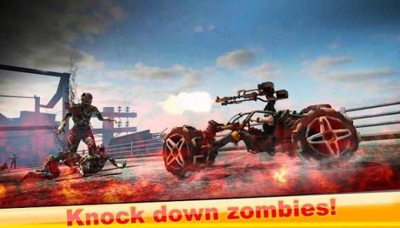 Drive Die Repeat - Zombie Game на android