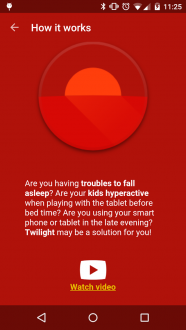 Twilight Pro на android