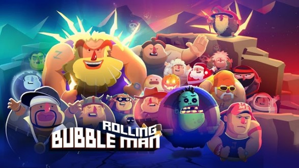 Bubble Man: Rolling на android