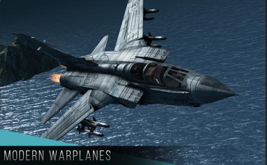 Modern Warplanes на android