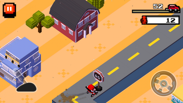 Crush Road (Road Fighter) на android