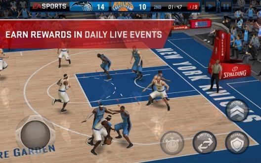NBA LIVE Mobile на android