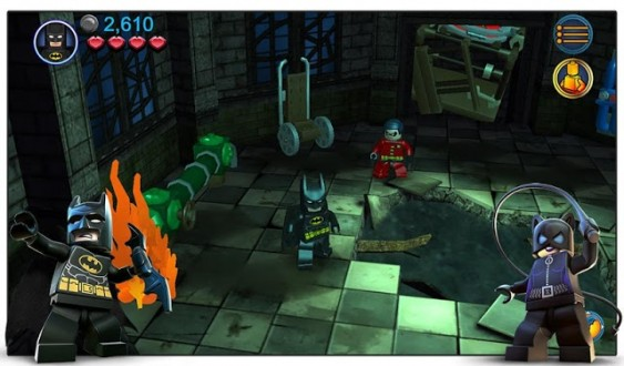 LEGO Batman: DC Super Heroes на Android