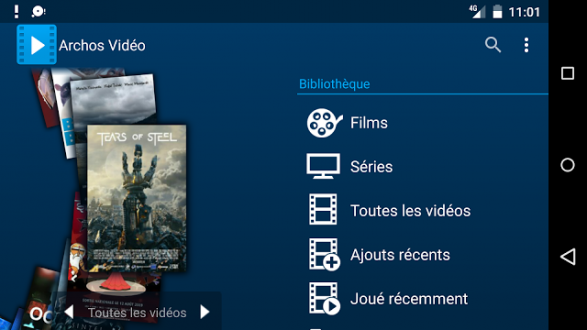 Archos Video Player на Android