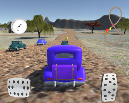 Retro Cars: Racing на android