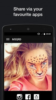 MSQRD / Маскарад на Android