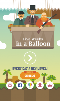 5 Weeks in a Balloon - Premium на Android