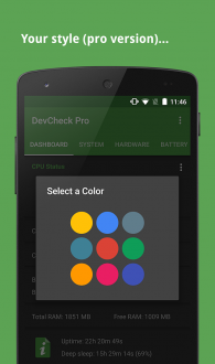 DevCheck System Info на Android