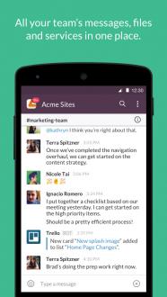 Slack на Android