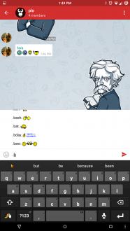 Lagatgram на android