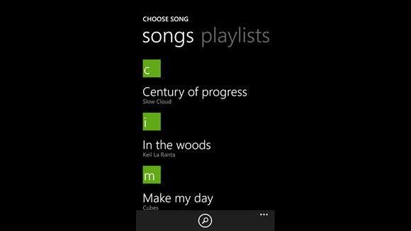 Приложение Создатель Мелодий для windows phone