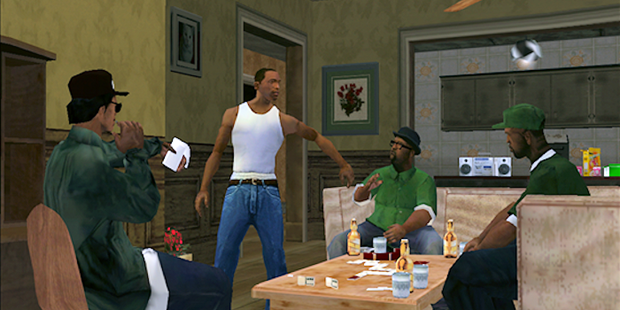 GTA San Andreas для windows phone