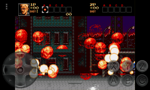 Contra Hard Corps на Android